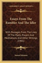 Essays from the Rambler and the Idler
