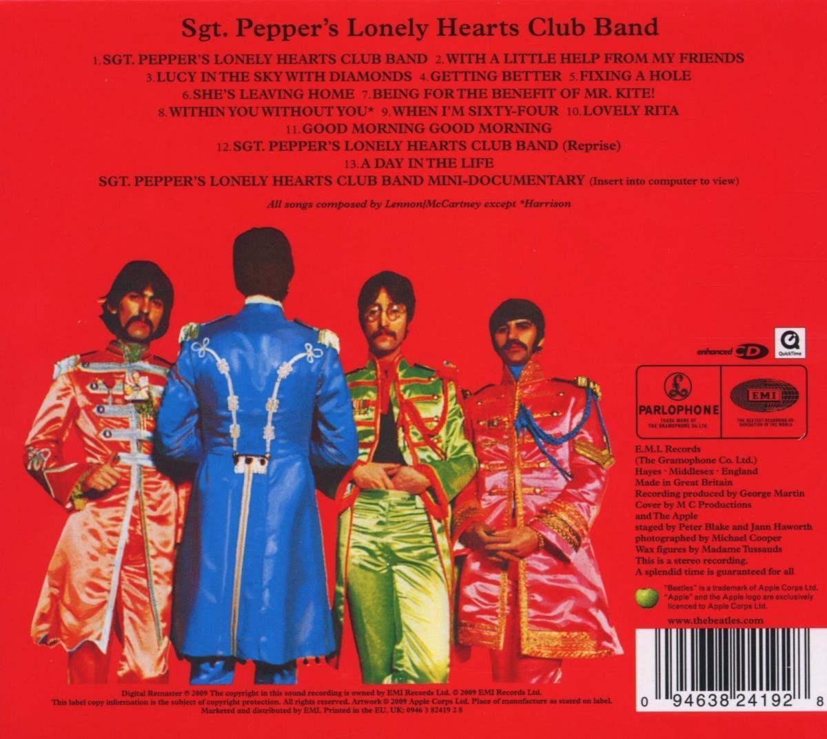 Bol Com Sgt Pepper S Lonely Hearts Club Band Remastered The Beatles Cd Album Muziek