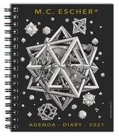 Afbeelding van M.C. Escher weekagenda 2021