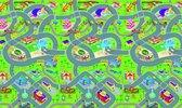 Afbeelding van Eddy Toys speelmat - verkeer - 120 x 100 x 0,3 cm - eva-schuim speelgoed