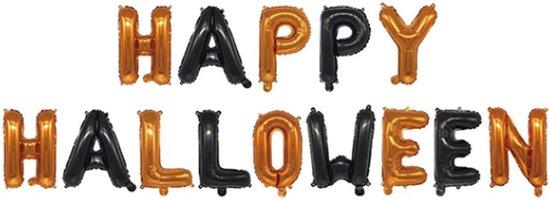 Halloween Decoratie Ballonnen Happy Halloween Versiering Halloween Slinger Accessoires – 1 Stuk