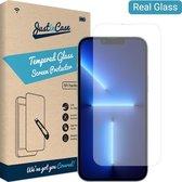 iPhone 13 Pro Max Screenprotector - Gehard glas - Transparant - Just in Case