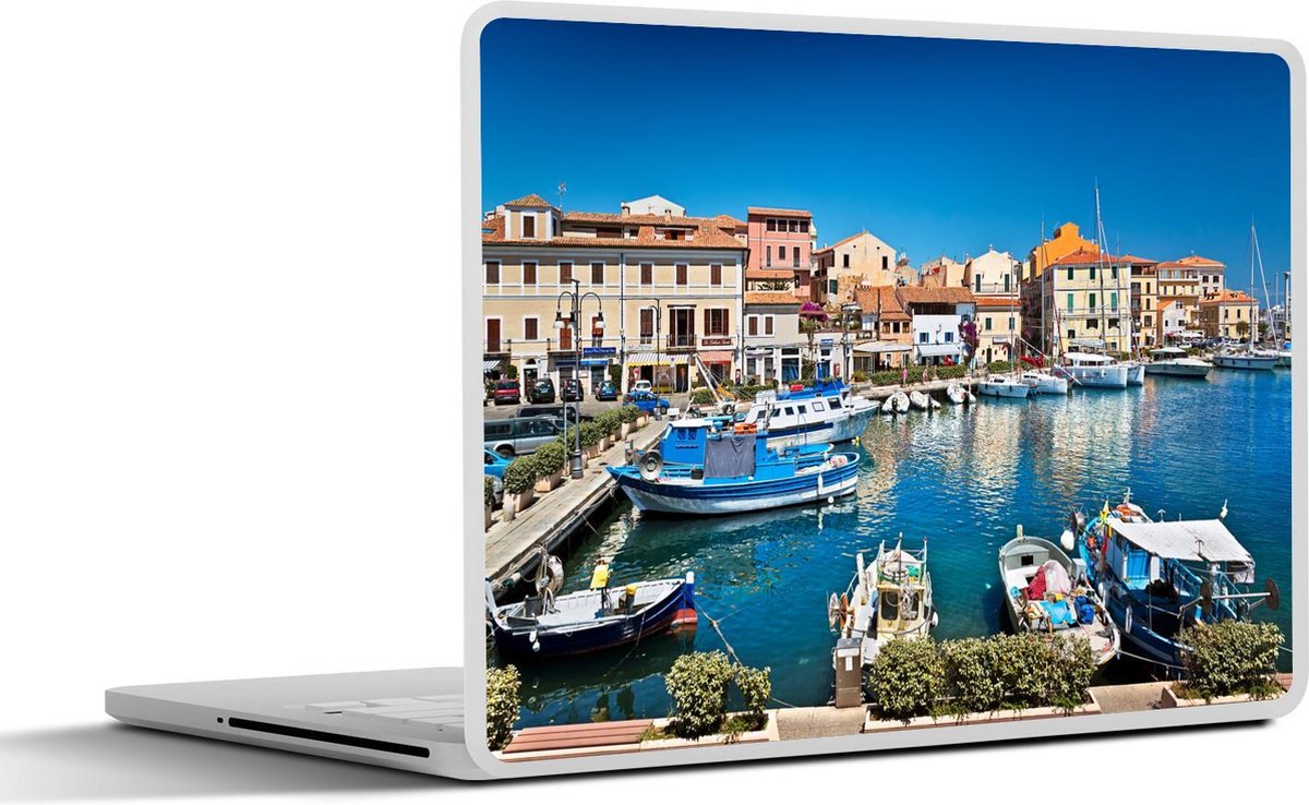 Laptop sticker - 11.6 inch - Haven in La Maddalena in Sardinië