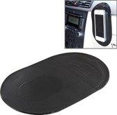 Auto antislip sticky mat voor mobiele telefoon / MP3 / MP4, grootte: 18,2x12x0,2cm (zwart)