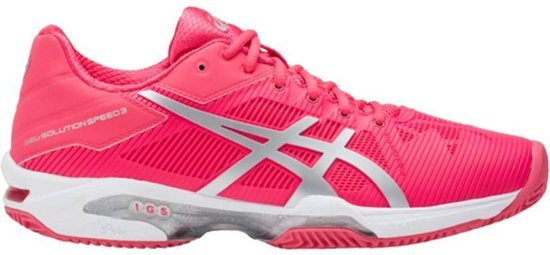 Asics Gel Solution Speed 3 clay roze tennisschoenen dames (E651N 1993)