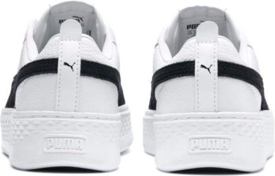 Puma Smash Platform L wit sneakers dames (366487-12) snzthDvn