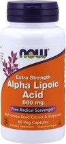 Alpha Lipoic Acid 600mg Now Foods 60v-caps