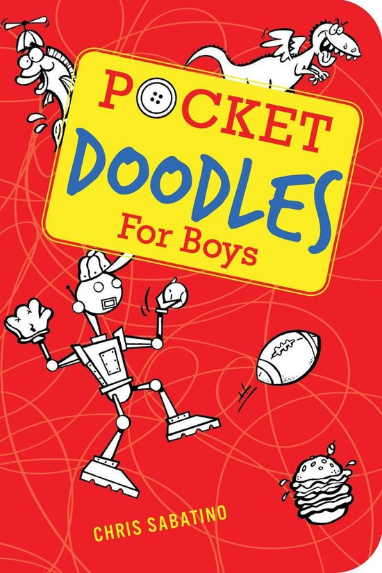 Boek cover Pocketdoodles for Boys van Chris Sabatino (Onbekend)