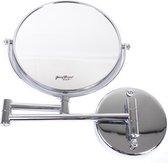Gérard Brinard make up spiegel wandspiegel knikarm spiegel 10x vergroting - Ø20cm spiegels