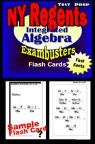 NY Regents Integrated Algebra Test Prep Review--Exambusters Flashcards