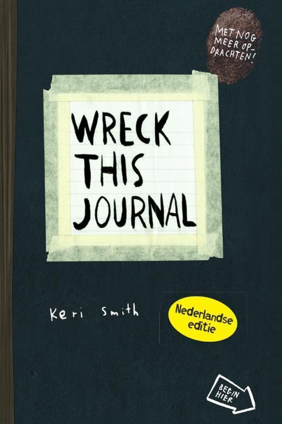Boek cover Wreck this journal van Keri Smith (Paperback)