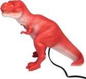 House of Disaster nachtlamp Red T-rex Rood
