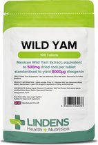 Lindens - Wilde Yam 500 mg - 100 tabletten