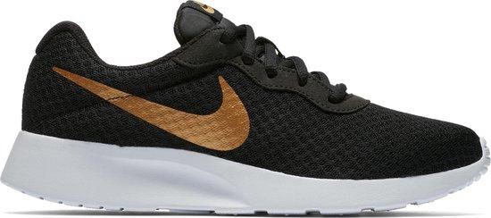 bol.com   Nike Wmns Tanjun - Black/Metallic Gold - Sneakers ...