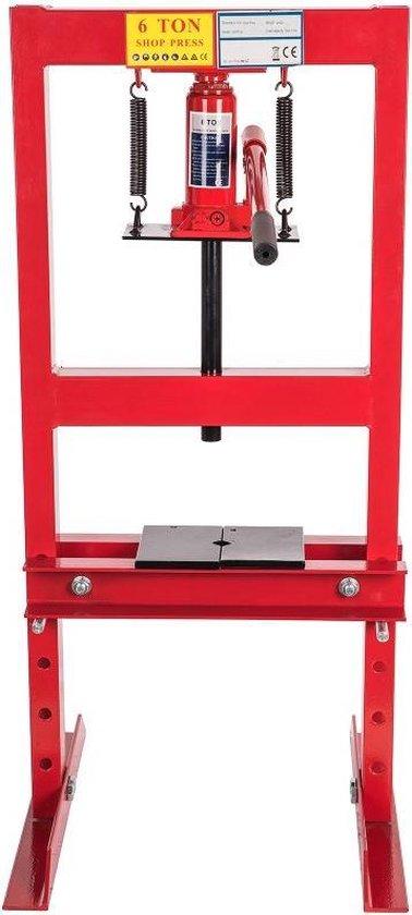 Hydraulische pers werkplaatspers raamwerkpers - shop press - 6 Ton
