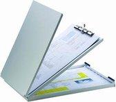 LPC Formulierenhouder Klemmap-  Aluminium - A4 -  Topopening