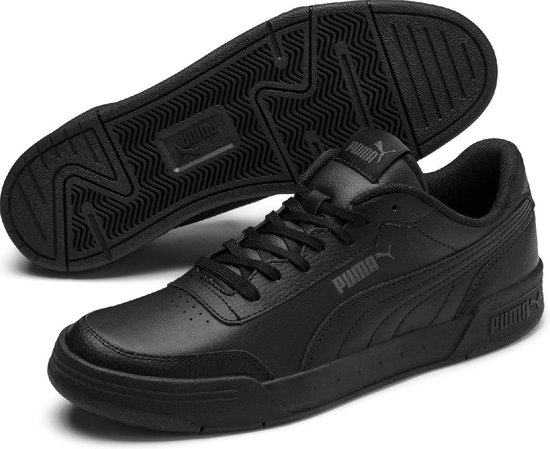 PUMA Caracal Unisex Sneakers - Puma Black-Dark Shadow - Maat 46