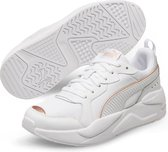 PUMA X Ray Metallic Wn's Dames Sneakers - Puma White-Rose Gold - Maat 42