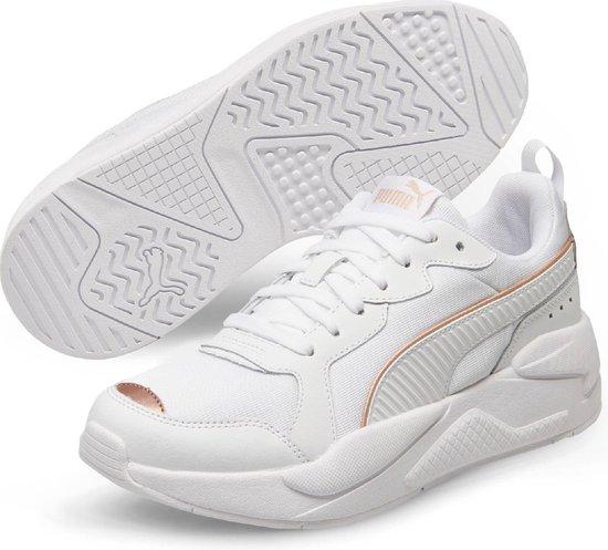 PUMA X Ray Metallic Wn's Dames Sneakers Puma White Rose Gold Maat 42