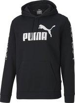 PUMA Amplified Hoody FL Heren Trui - Puma Black - Maat L