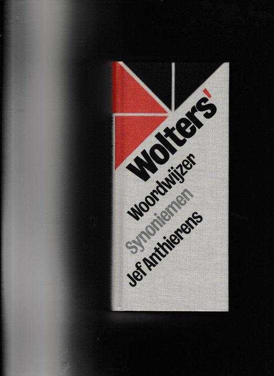 Wolters woordwyzer synoniemen - Anthierens |