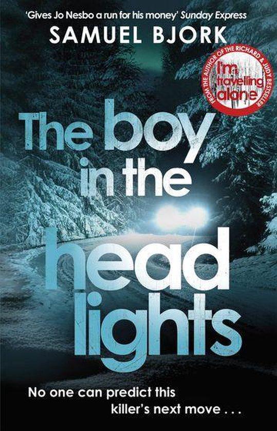 Boek cover The Boy in the Headlights van Samuel Björk (Onbekend)