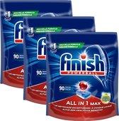 Finish All in 1 Max Ontvetter Vaatwastabletten - 270 Tabs - Mega Pack