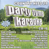 Party Tyme Karaoke: Country Hits, Vol. 24