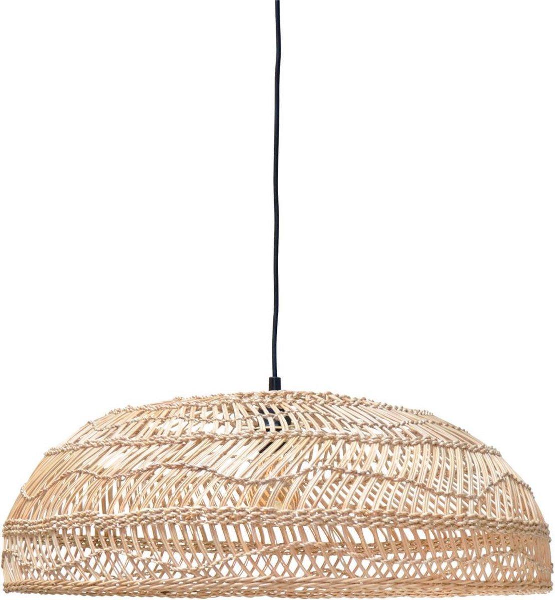 Bol Com Hk Living Hanglamp Riet Naturel Medium 20 X 80 X 80