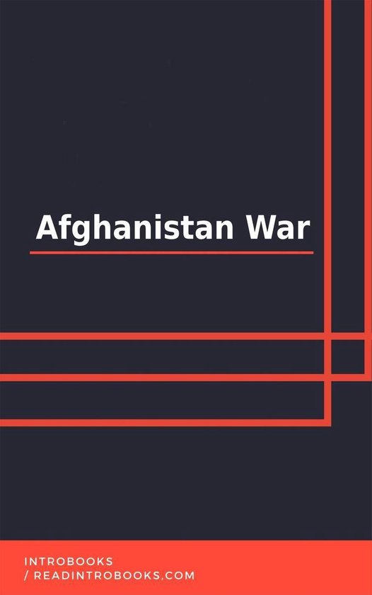 Boek cover Afghanistan War van Introbooks Team