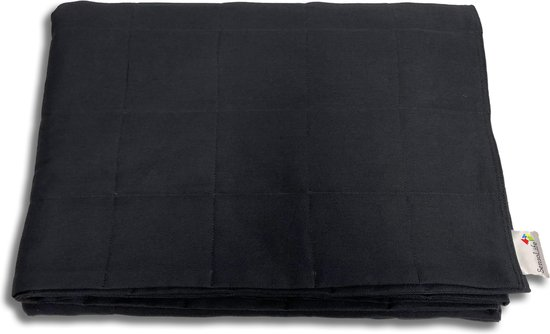 Sensolife Verzwaringsdeken 10kg - 150x200cm - Zwart