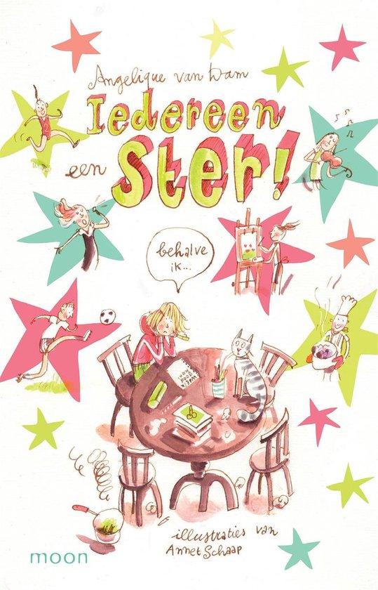 Boek cover Iedereen een ster (behalve ik) van Angelique van Dam (Onbekend)