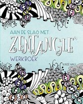 Boek Aan de slag met Zentangle Werkboek + 3 x Zentangle Pigma Pennen + 15 x Zentangle Apprentice® Tegels