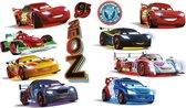 Disney Cars - Muurstickers - 2 x vel A3 - Multi