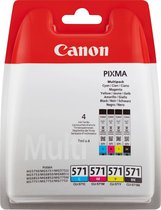 Canon CLI-571 - Inktcartridge / Cyaan / Magenta / Geel / Zwart