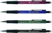 vulpotlood Faber Castell GRIP 1345 0,5mm zwart metallic FC-134599