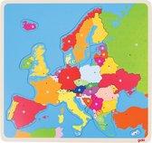 Houten Puzzel Europa