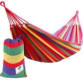 BRAMBLE Draagbare hangmat - Perfect voor Camping & Outdoors of Tuinen en Reizen - Max. belasting 150kg - Leuke Kerstcadeau