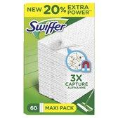 Swiffer Sweeper - 60 navullingen - Doekjes voor vloeren