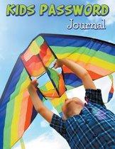 Kids Password Journal