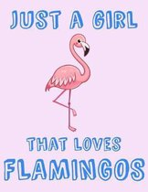 Just A Girl That Loves Flamingos