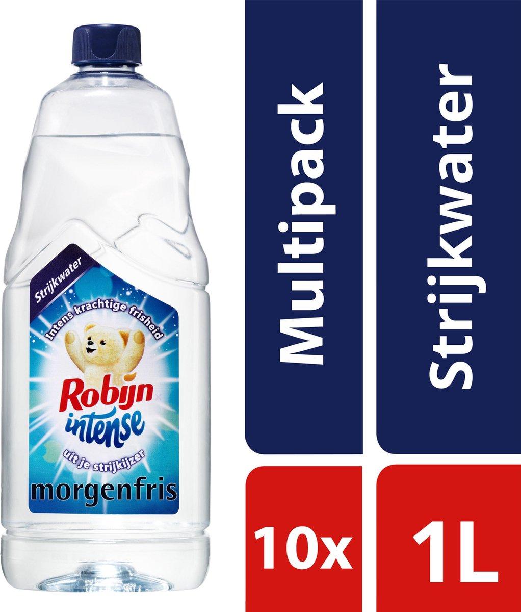 Robijn Intense Morgenfris Strijkwater - 10 x 1 L - Voordeelverpakking