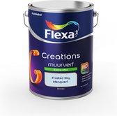 Flexa Creations Muurverf Extra Mat - Frosted Sky - Mengkleuren Collectie - 5 Liter