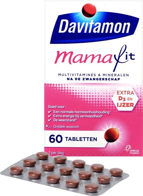Davitamon Mamafit - multivitamine - zwangerschap - 60 tabletten