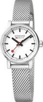 Mondaine MSE.26110.SM horloge dames - zilver - edelstaal