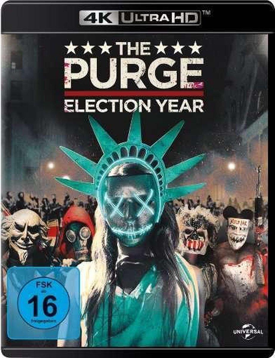 The Purge: Election Year (Ultra HD Blu-ray & Blu-ray)-