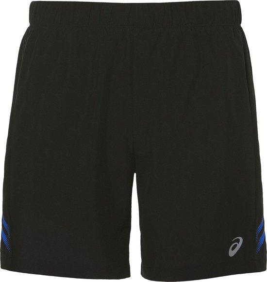 Asics Icon Short 2011A316-914, Mannen, Zwart, Sportbroeken maat: L EU