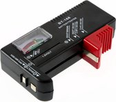 Analoge Batterijtester - Batterij Tester -  Met Accu-indicator - Batterijmeter Accutester - Batterijen Tester