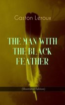 Omslag THE MAN WITH THE BLACK FEATHER (Illustrated Edition)