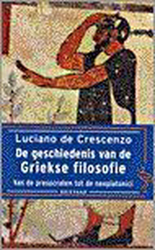 Geschiedenis griekse filosofie (ooievaar - Luciano Decrescenzo |